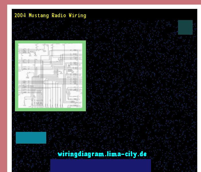 2004 Mustang Radio Wiring Diagram 175335 Amazing Rhpinterest: 2004 Mustang Radio Wiring At Gmaili.net