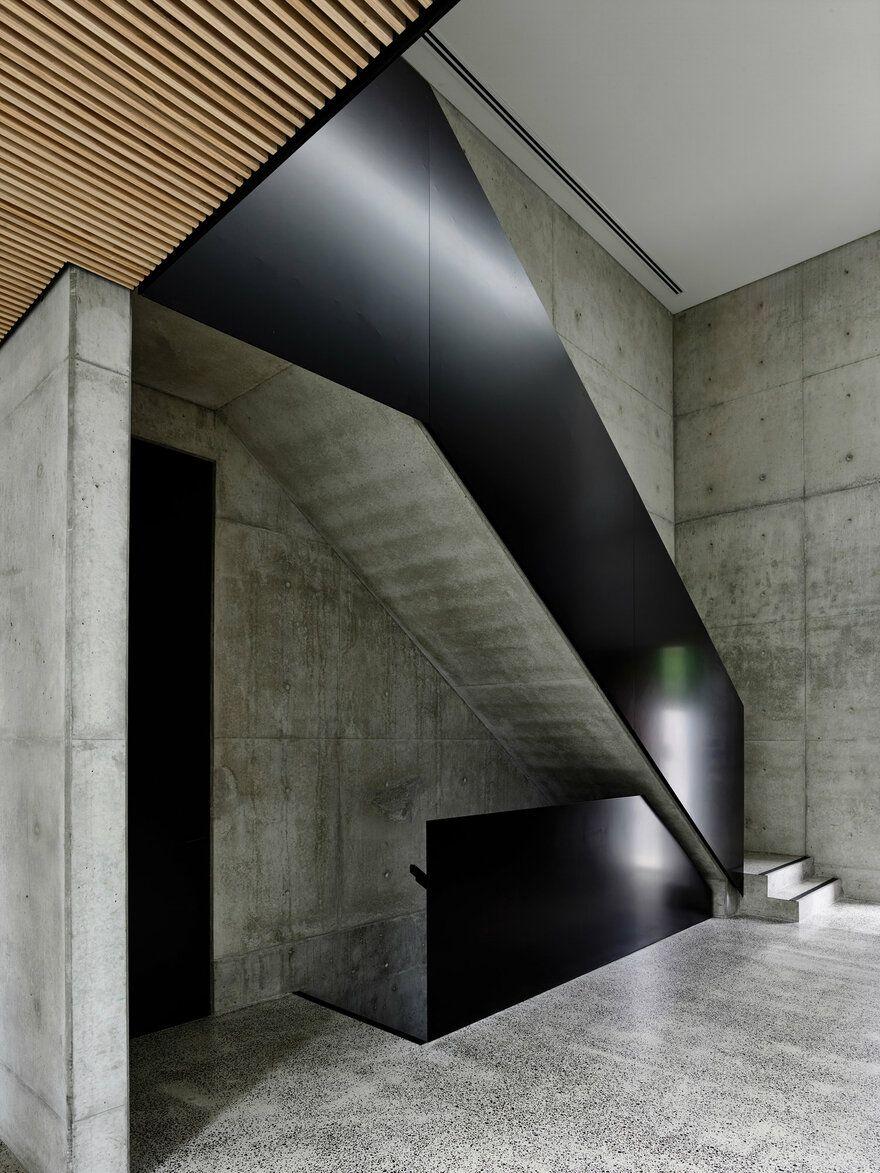 Light Vault House Chamberlain Architects Architect Architect House Staircase Design