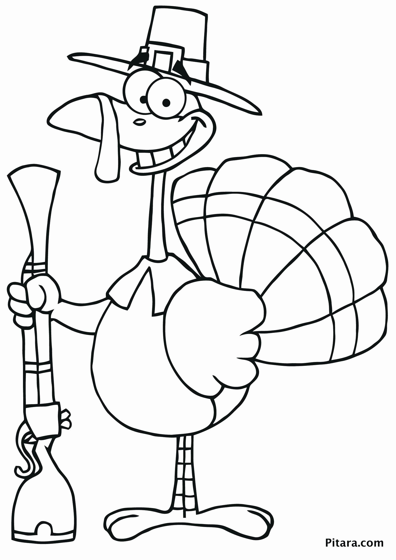 Funny Turkey Coloring Pages Elegant Pilgrim Child Coloring