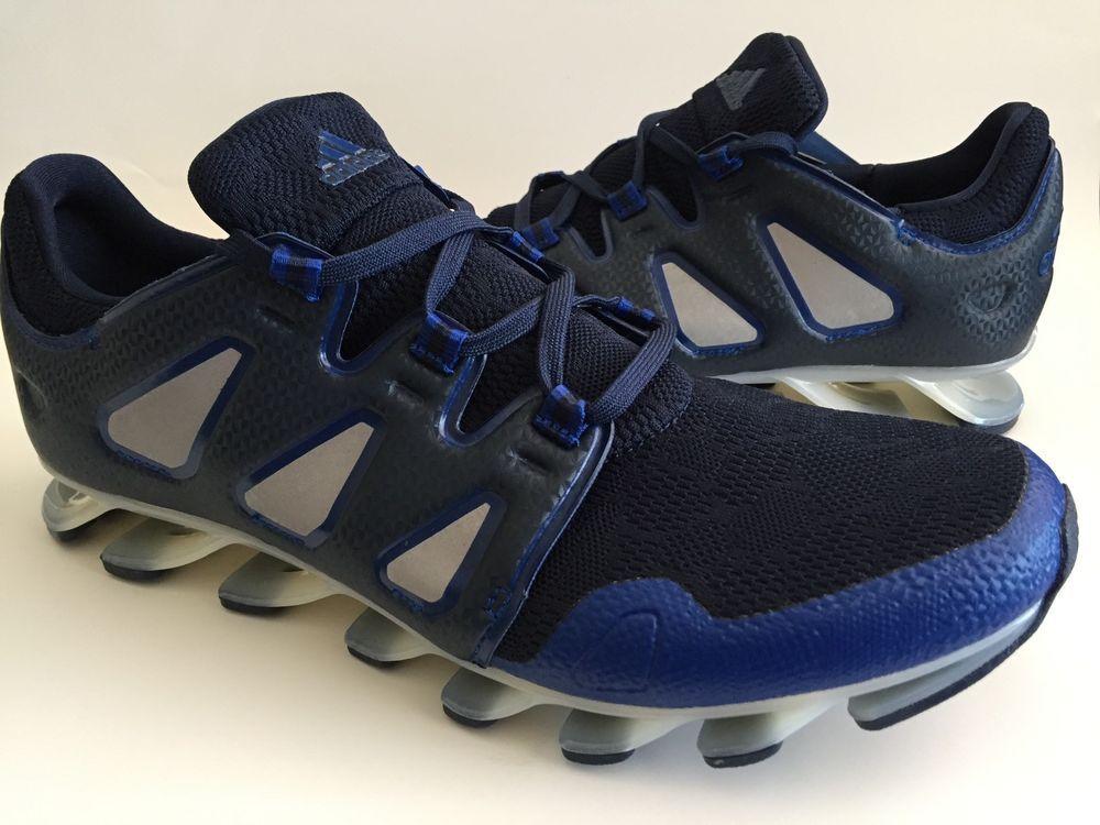 sale retailer 893c8 b5d5e ADIDAS SPRINGBLADE PRO Running Shoes Size 8.5 Black/Navy ...