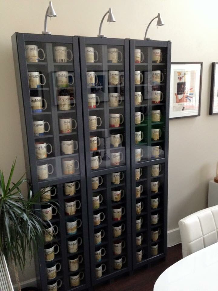Starbucks Coffee Bar Home Mug Display Coffee Mug Display