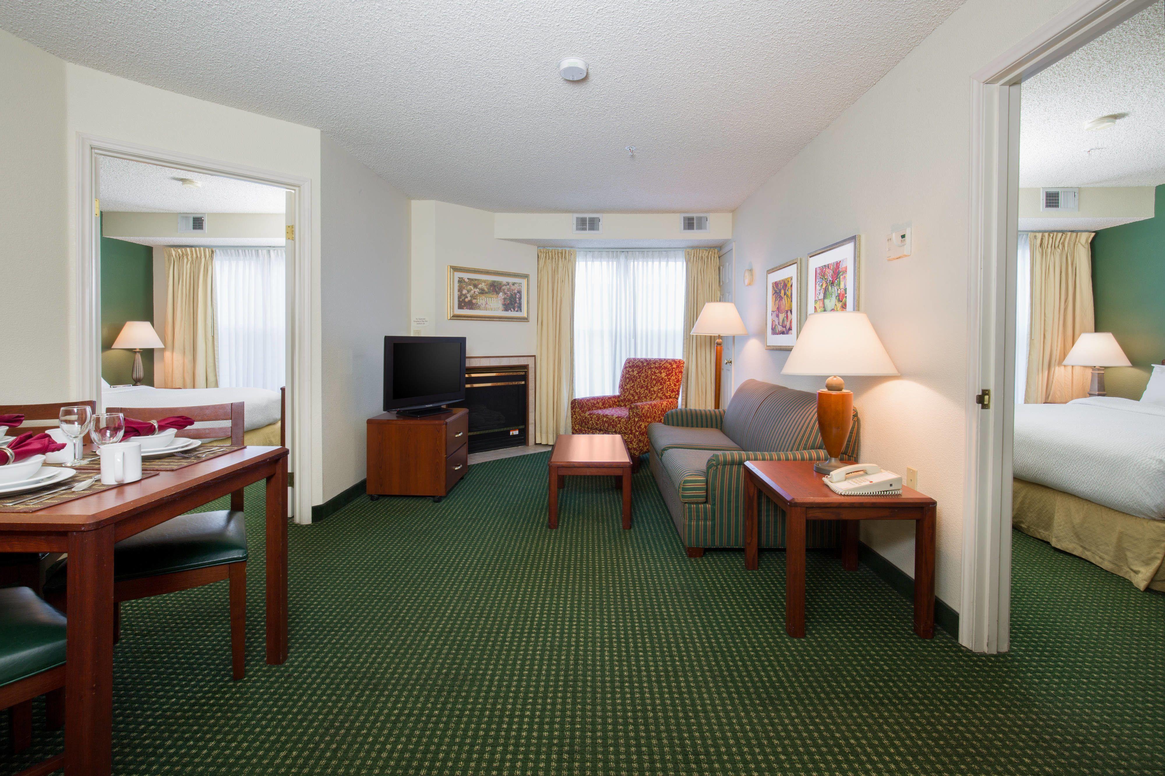 Residence Inn Roseville TwoBedroom Suite enjoying,