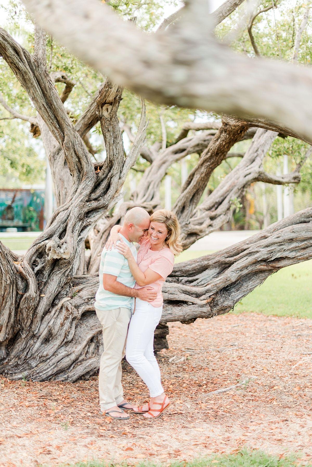 Crandon Park Engagement Photos