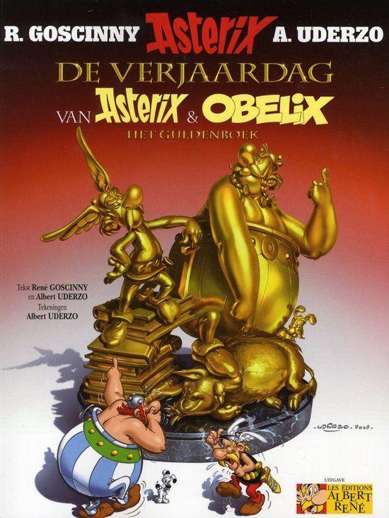 asterix 50 jaar Asterix 34. De verjaardag van Asterix & Obelix || het guldenboek  asterix 50 jaar