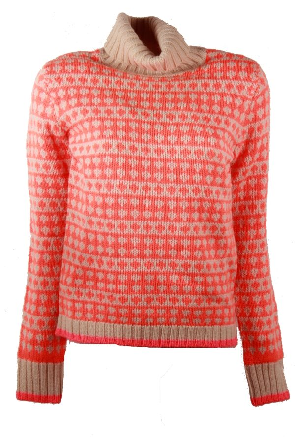 Mads Norgaard Neon Orange Sweater