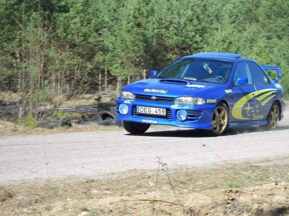 Subaru Impreza WRX in Lithuania