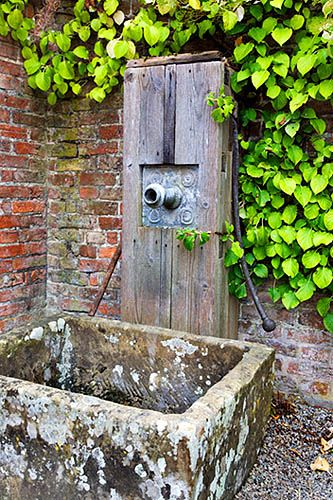 Old Water Pump and Stone Trough Beningbrough Hall Garden Yorkshire England | Flickr - Photo Sharing!