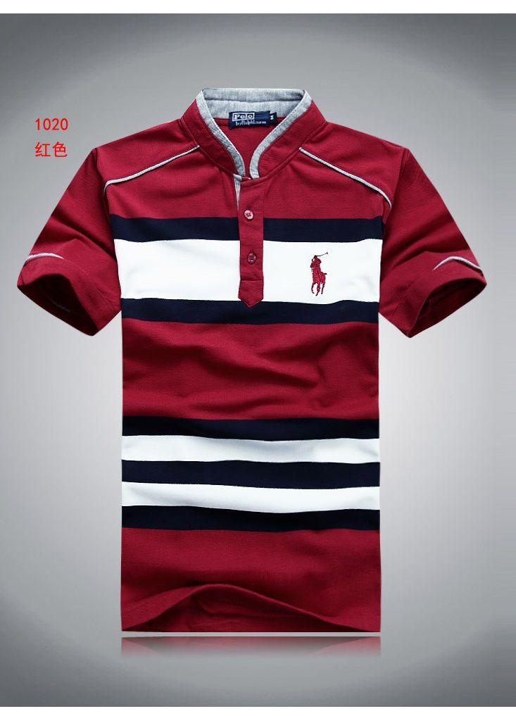 Men Henley POLO Fashion T-shirt LOGO Str (end 9 23 2017 1 12 00 AM ... b7b8b4d2d9311