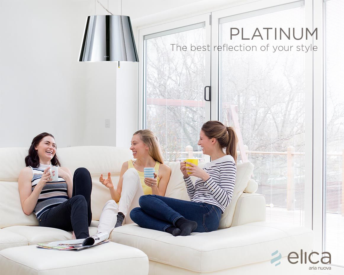 The elica hoods can also be placed in the living room so - Leave you dead in the living room ...