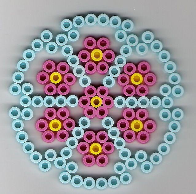 kreis b gelperlen circle perler beads cool perler beads ideas perler beads hama beads. Black Bedroom Furniture Sets. Home Design Ideas