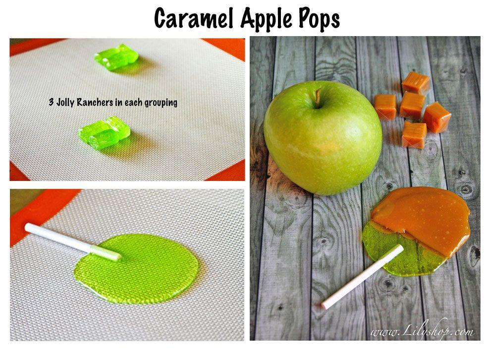 Lilyshop | Homemade Caramel Apple Pops
