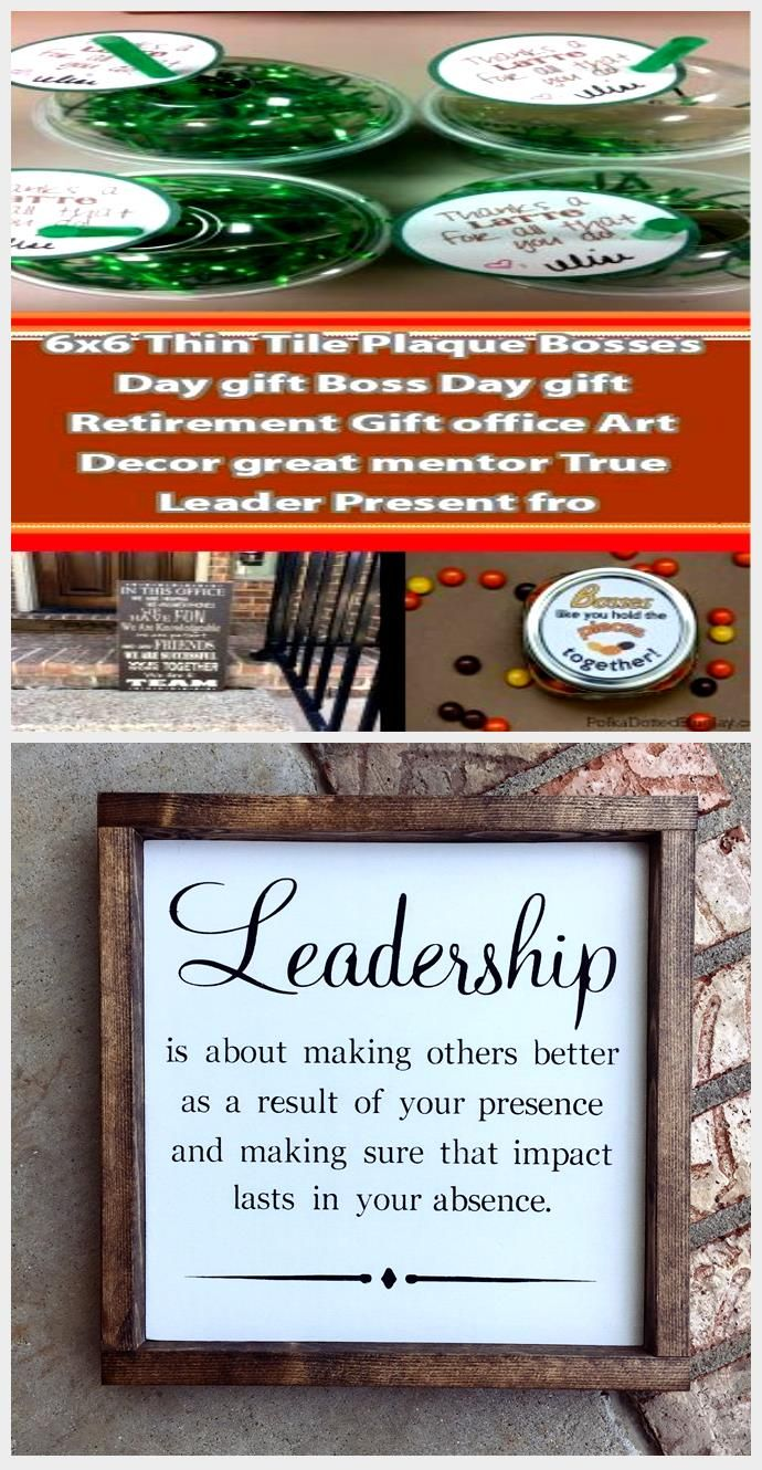 25 Boss's Day Gift Ideas These gift ideas will get you ready for Boss's Day! #bo...