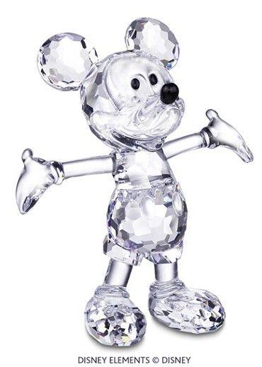 Swarovski mickey mouse disney crystal disney en - Figuras de cristal swarovski ...