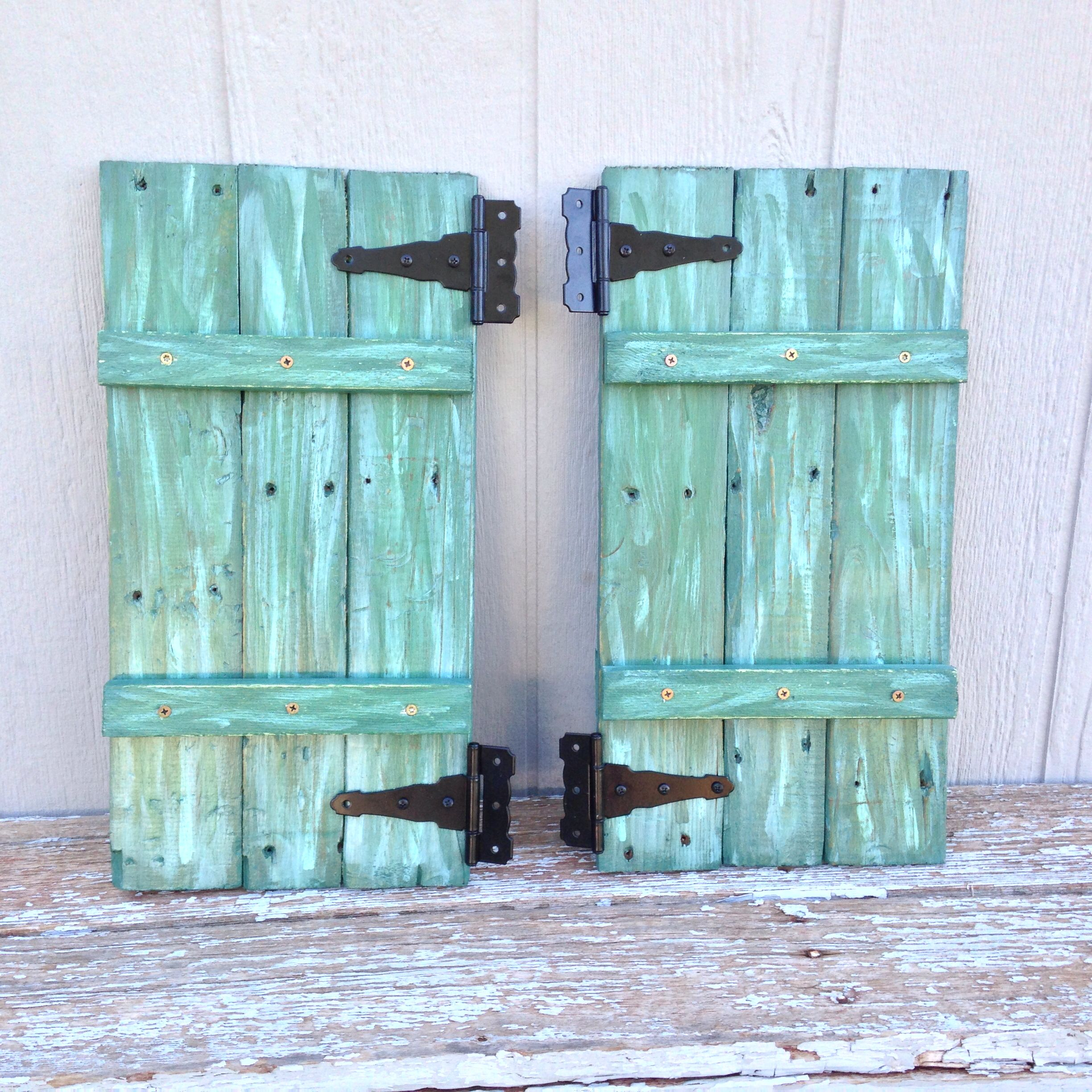 Shutters for my chicken coop made out of pallet wood and for How to make shutters from pallets
