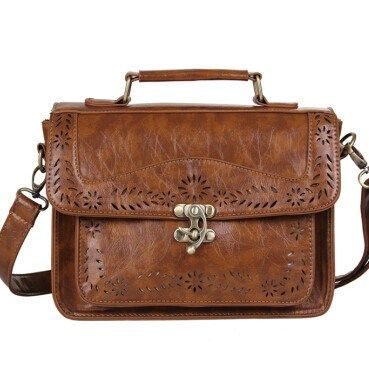 Retro Lugo Satchel/Messenger Bag European Style
