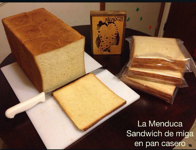 Pan De Miga Casero Para Hacer Sandwich De Miga Simples Y