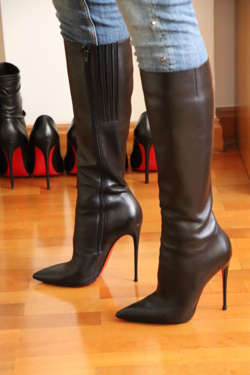 Christian Louboutin boots collection 120mm | Stivali di