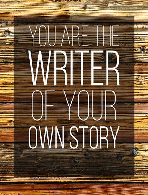 YOU are the writer! #goals #motivation