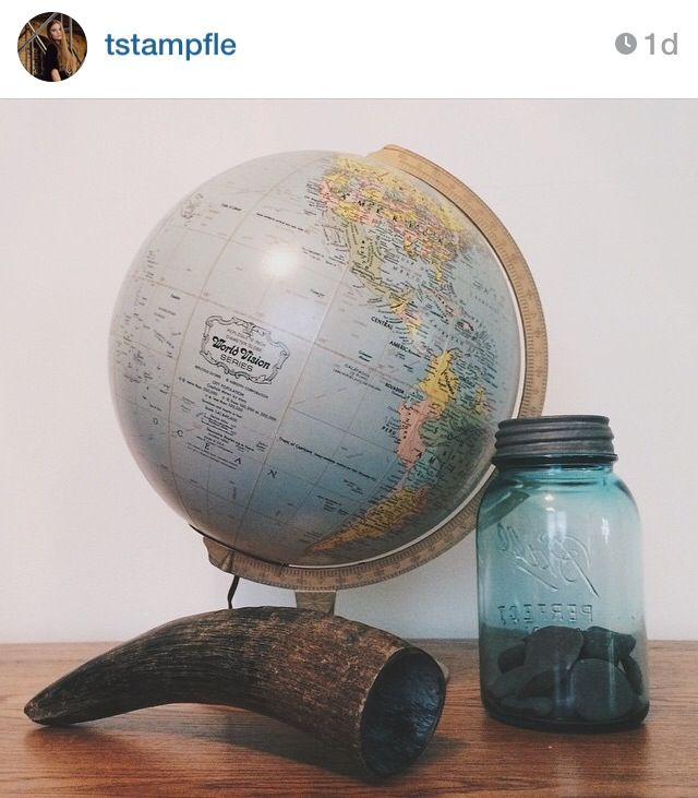 World Globe Home Decor
