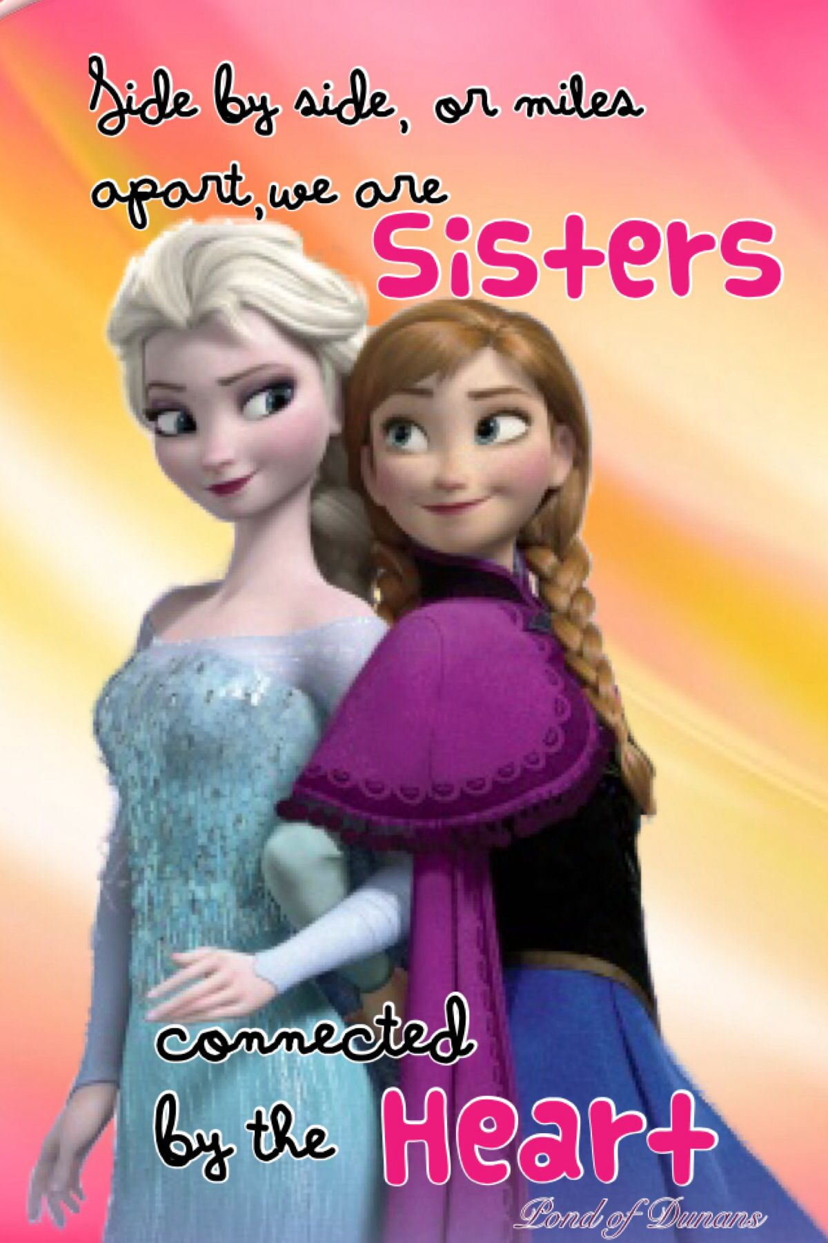 Sisters! <3 though my sisters are far, they are connected to ...