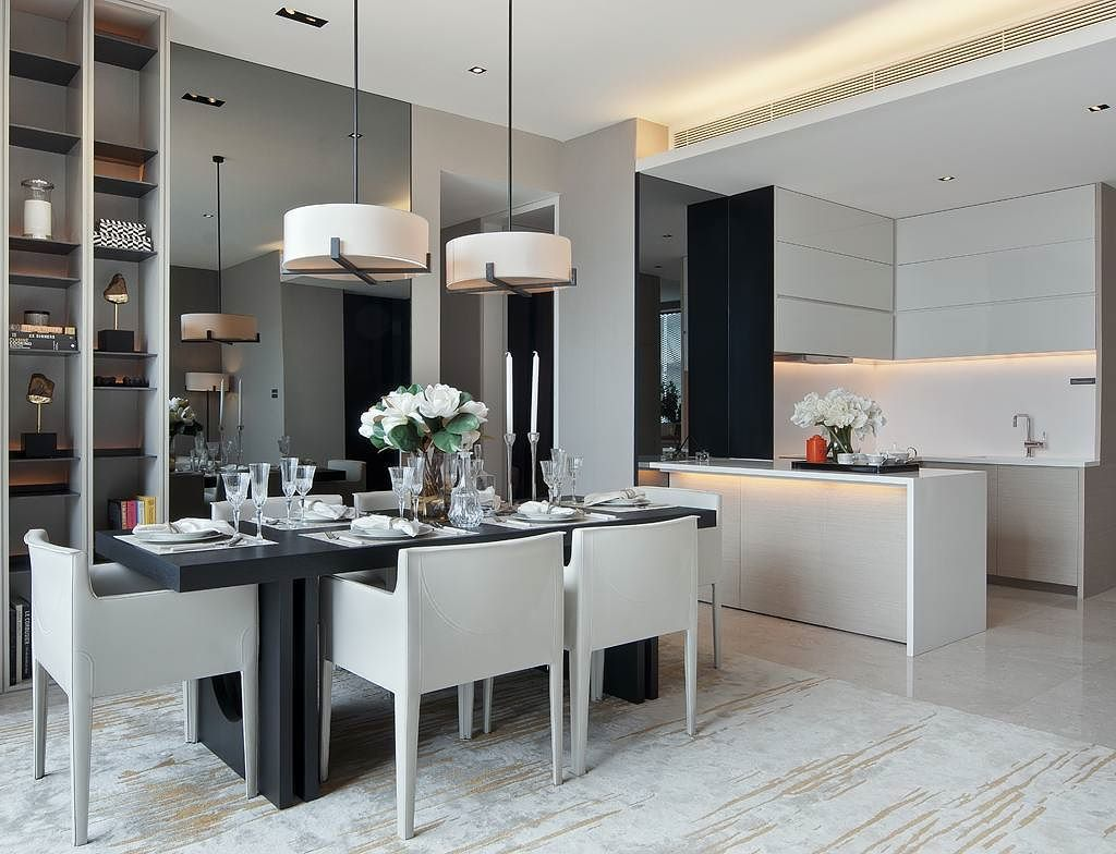 Model Ruang Makan Minimalis Menyatu Dengan Dapur 2020