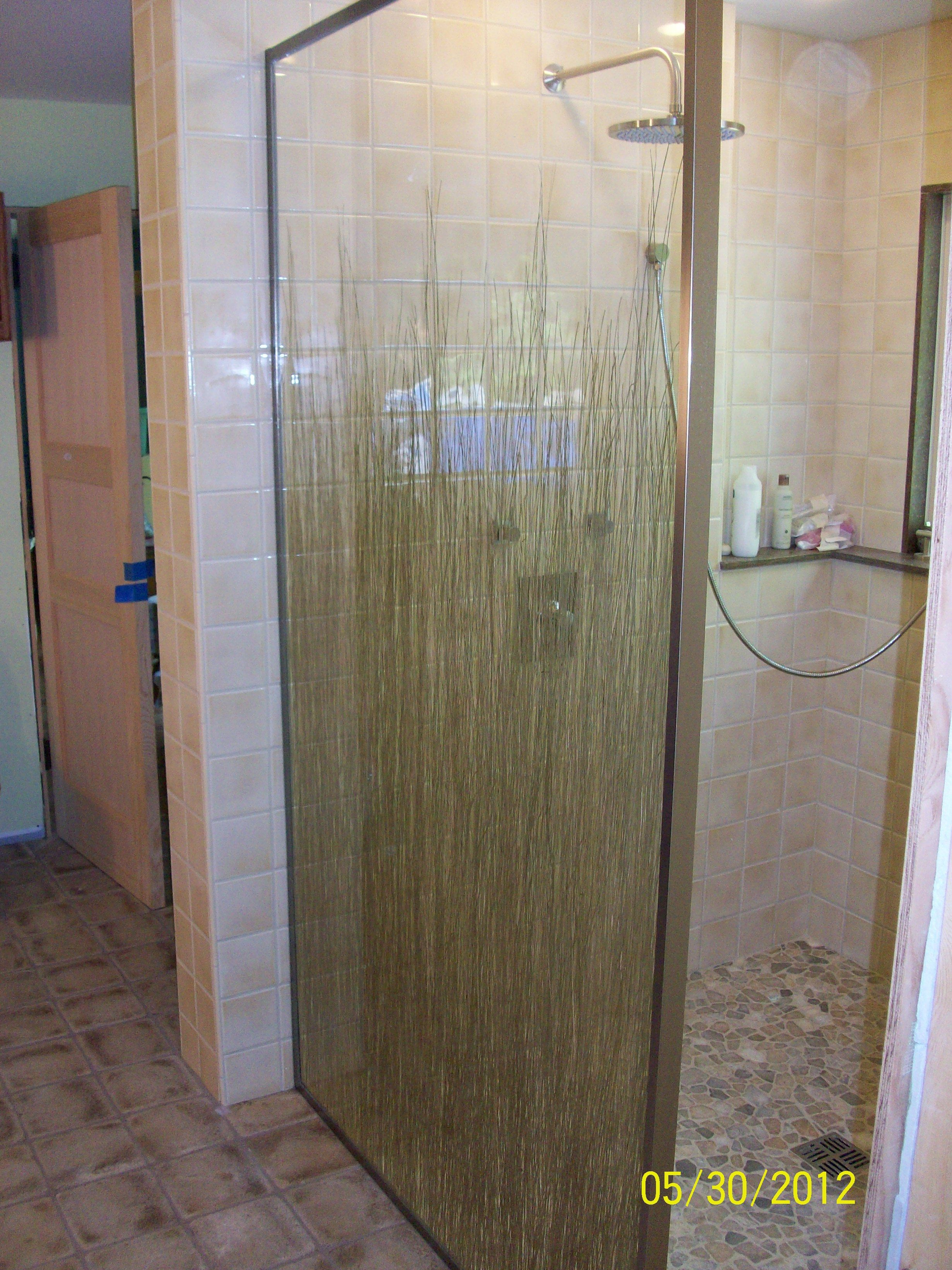 Bamboo Outdoor Shower Enclosures Bamboo Glass Shower Door By Glassworksvt Shower