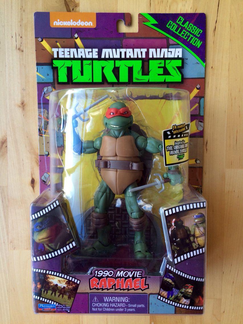 Tmnt 1990 Movie Raphael Classic Collection Tmnt Teenage Mutant