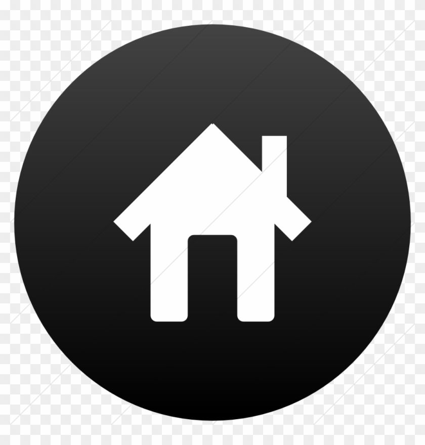 12 House Icon Flat Images Twitter Icon Black Circle Hd Png Download Is High Quality 1024 1024 Transparent Png Stocked Home Icon Twitter Icon Circle Clipart