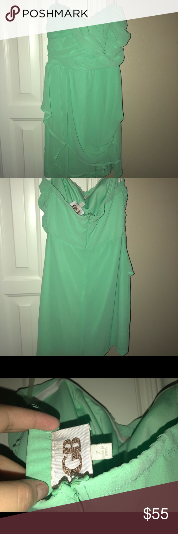 d605040327e Mint Green Semi Formal Dress