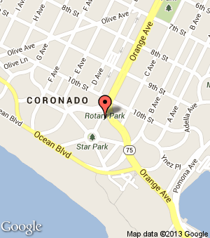 Google Map | Coronado Island California | Pinterest | Historical ...