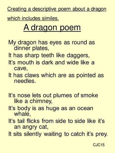 a descriptive narrative poem Read and interpret narrative poetry:  a narrative poem is a poem that tells a story  there is not much real action in the poem,.