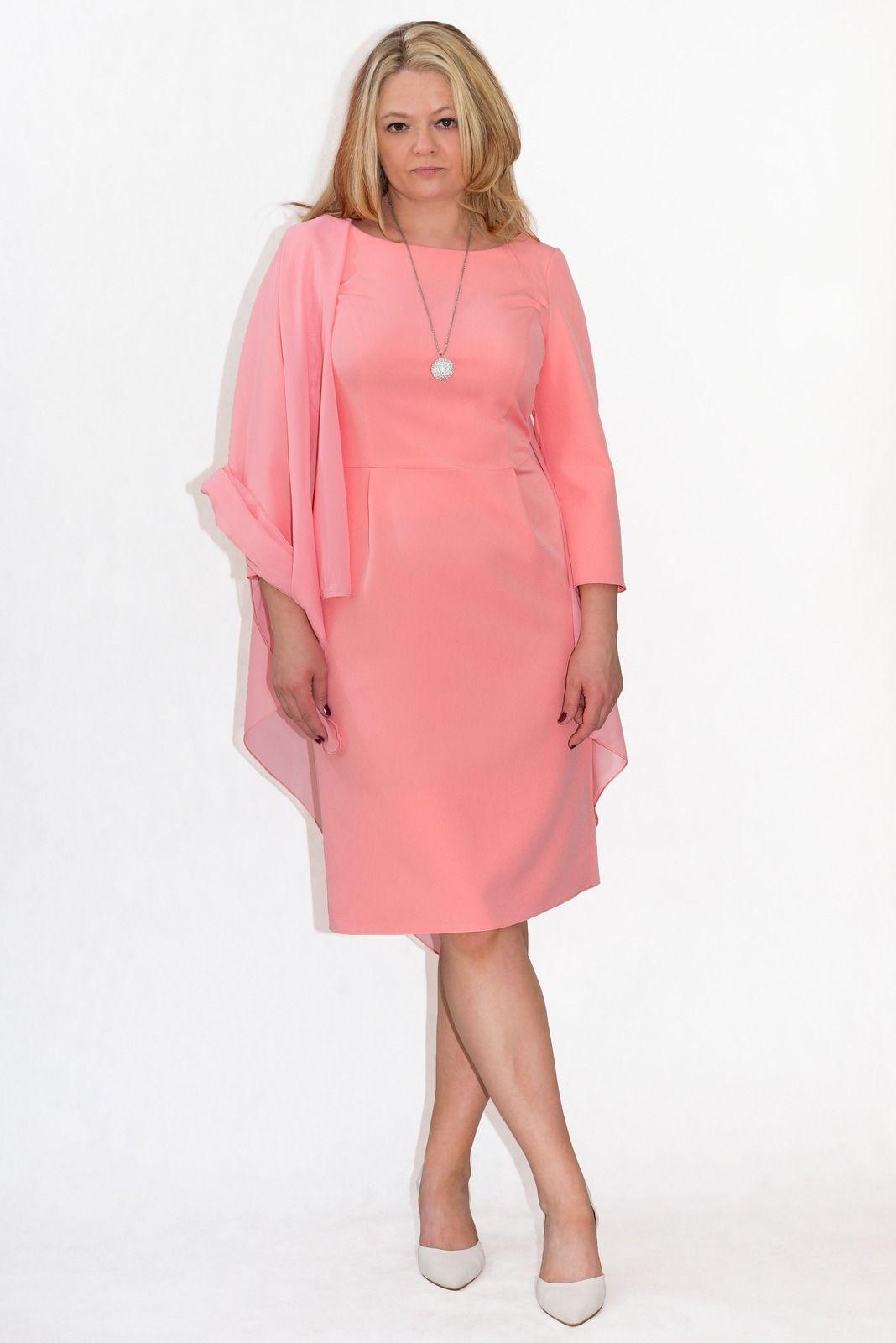 Eleganckie Sukienki Xxl Ava 40 60 Duze Rozmiary Plus Size Onlineshoping Wedding Dla Puszystych Dresses Shoulder Dress Fashion