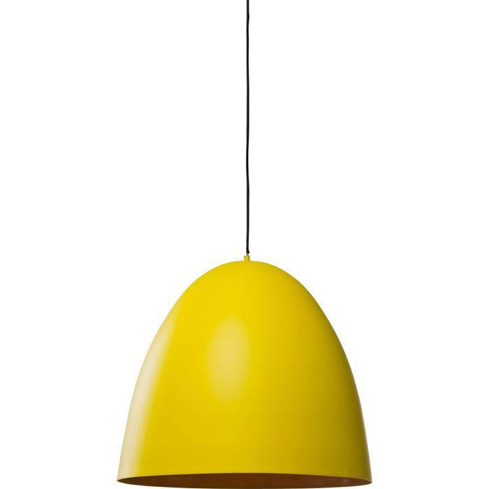 Lampara De Techo Happy Day Egg Amarillo Kare Design Hangeleuchte Deckenlampe Lampen