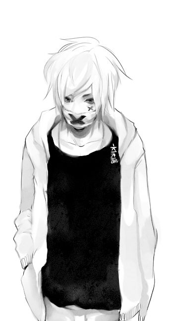 Face Mask By Keerou Deviantart Com On Deviantart Garotos Anime