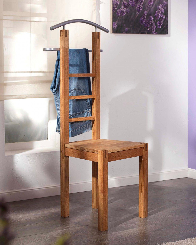Stummer Diener Stuhl Aus Massivem Eichenholz Jetzt Online Kaufen Oder In Einer Unserer Filialen Diener Flur Mobel Royal Oak