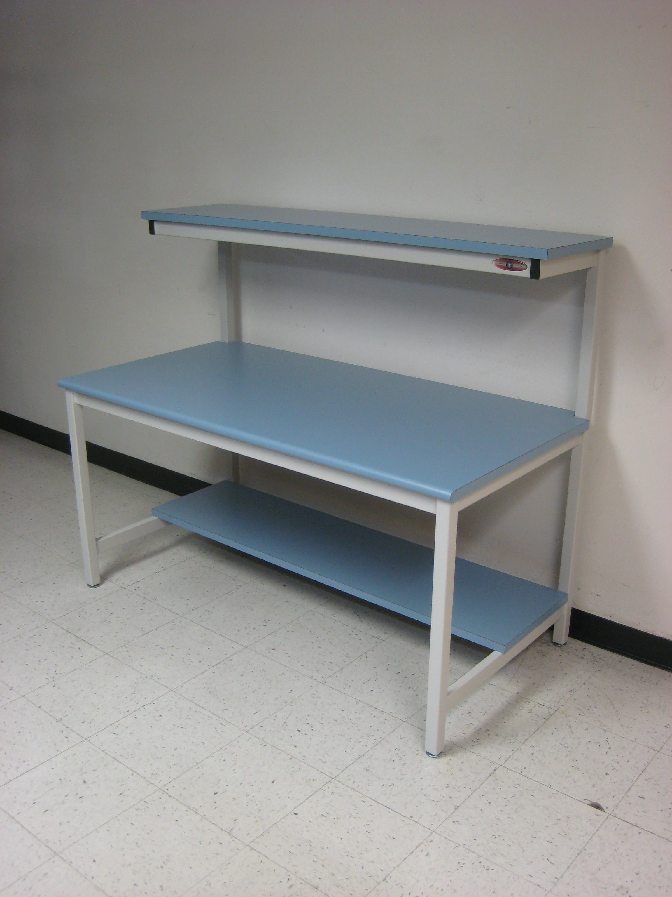 Marvelous Rdm Standard Style Tech Workbench With Cantilevered Upper Machost Co Dining Chair Design Ideas Machostcouk
