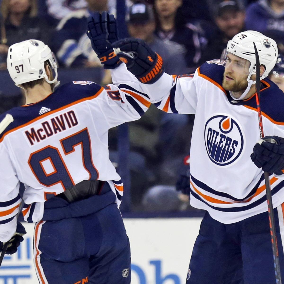 Leon Draisaitl Sergei Bobrovsky Top Highlights From Mar 26 Oilers Columbus Blue Jackets Blue Jacket