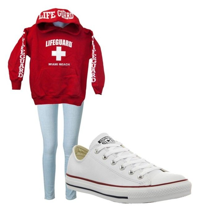 [LifeGuard] by brookejp-1 on Polyvore featuring Frame Denim and Converse
