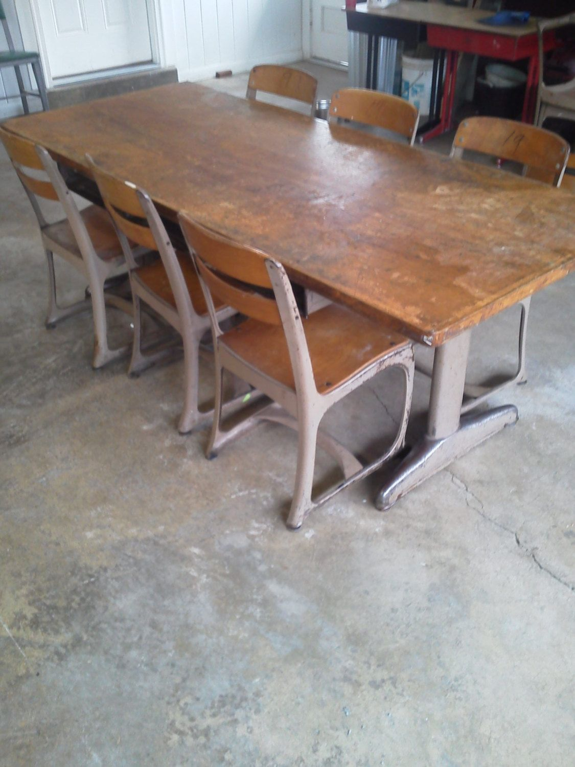 Incroyable American Seating Schoolhouse Table By Ripley10 On Etsy