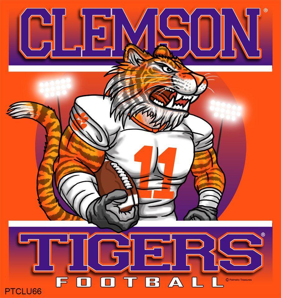 Clemson Tigers | Clemson... | Clemson football, Clemson ...