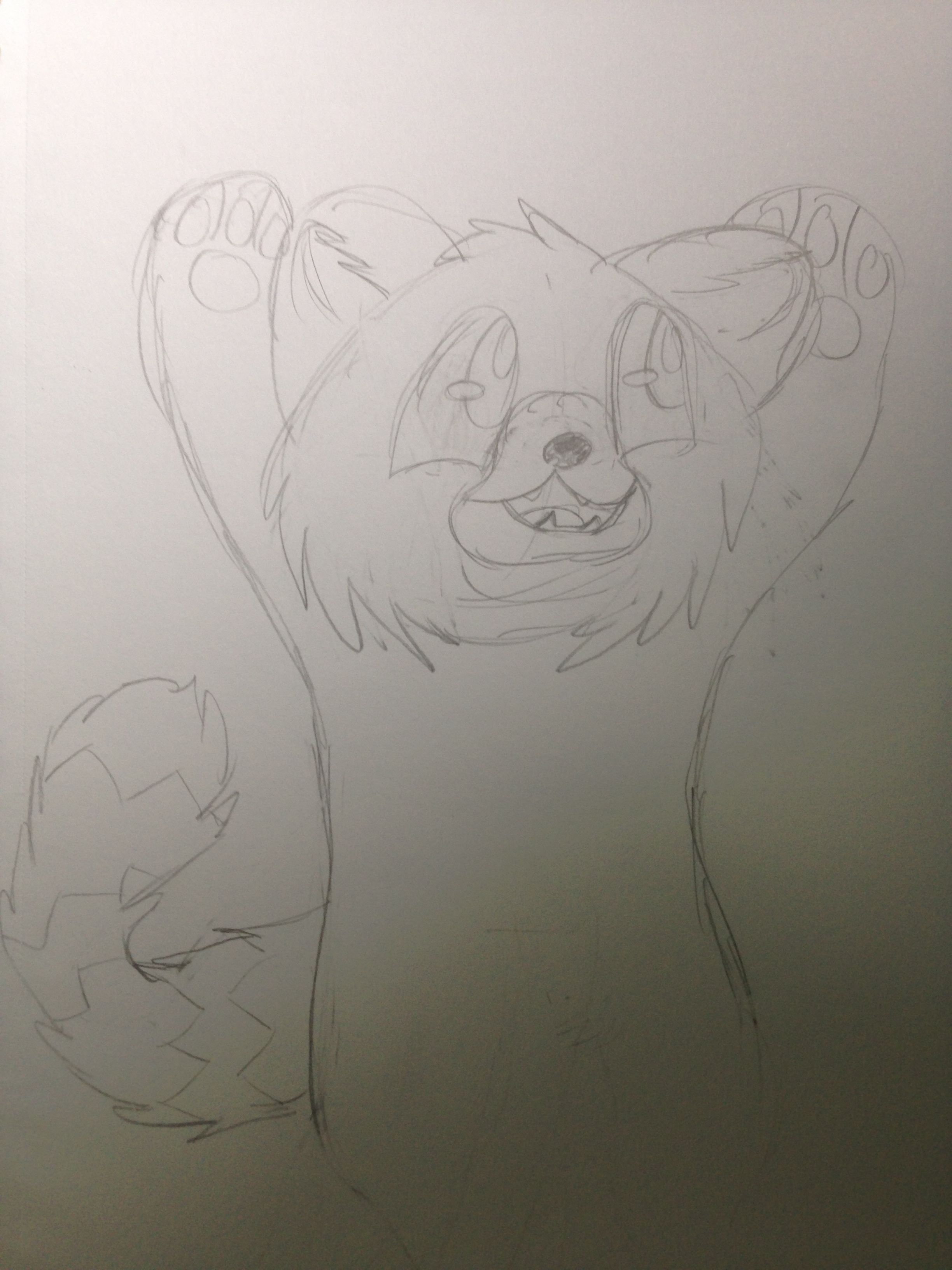 [No Name] Unfinished red panda dude