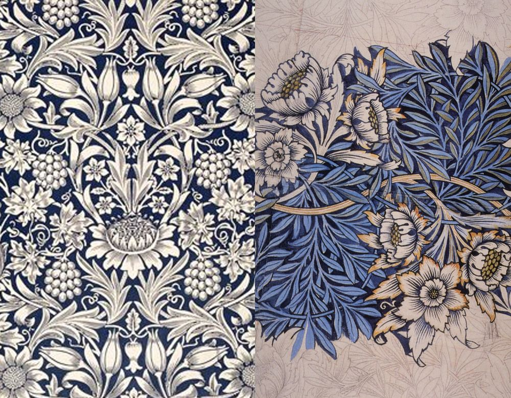The Revival Of William Morris Decorative Arts.