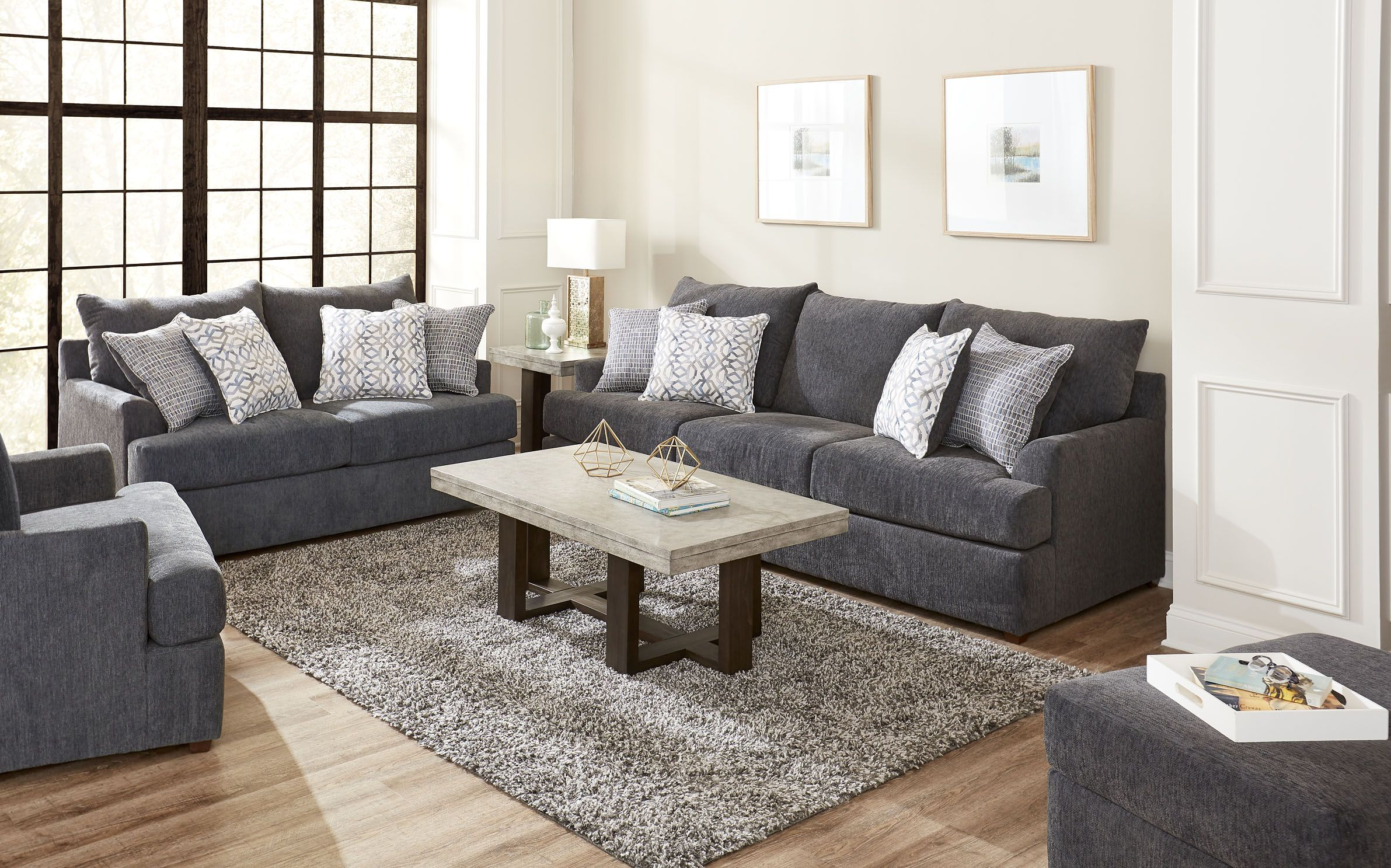The Stephenson Sofa Set Price Includes Sofa Loveseat And Chair This Beautiful So Furniture Design Living Room Accent Pillows Living Room Living Room Cushions
