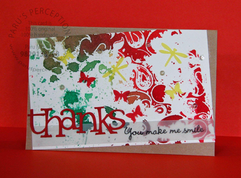 Paru S Perceptions Cards Handmade Diy Cards Card Maker
