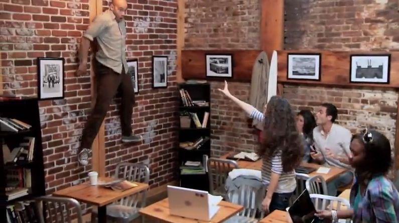 Telekinesis Marketing Stunt Shocks Coffee Patrons In NYC Coffee Shop