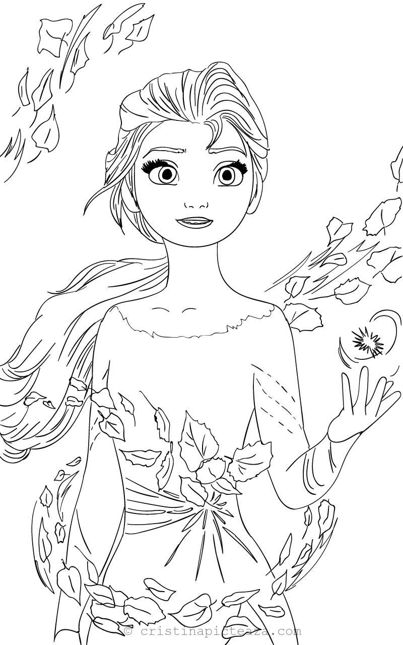 Elsa Coloring Pages Elsa From Frozen 2 Cristina Is Painting Elsa Coloring Pages Elsa Coloring Disney Coloring Pages Printables