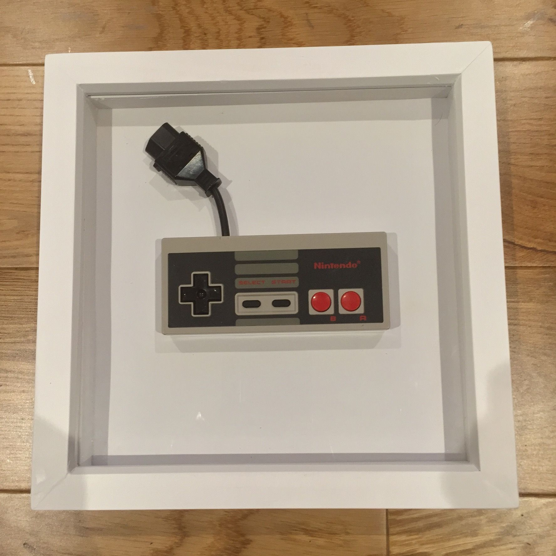 Nintendo NES Controller Framed Cool Retro Wall Art