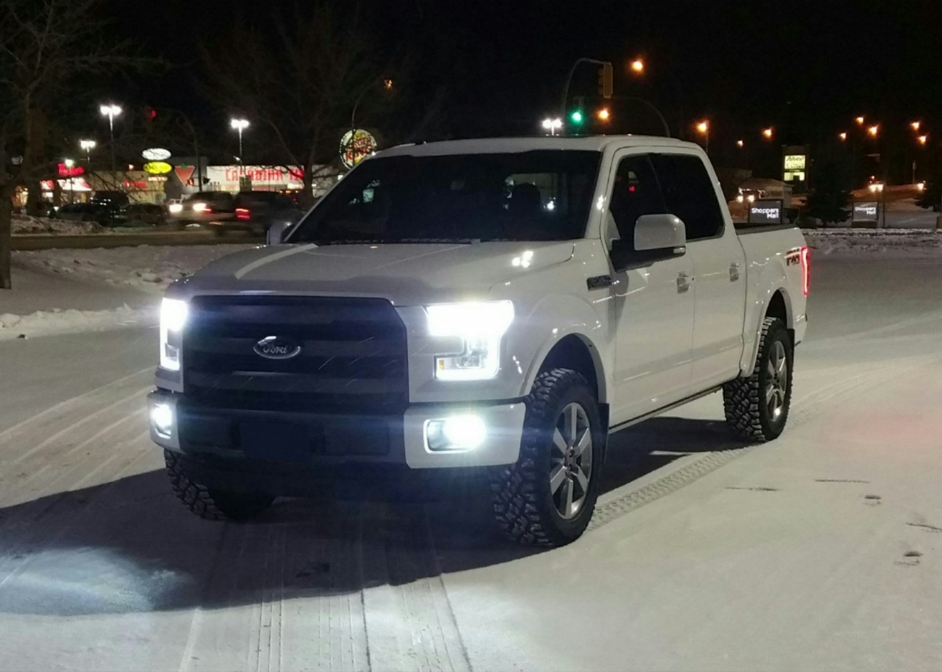 2015 F150 Forum >> Show Me Your Leveled Trucks With Oem Rims Ford F150 Forum