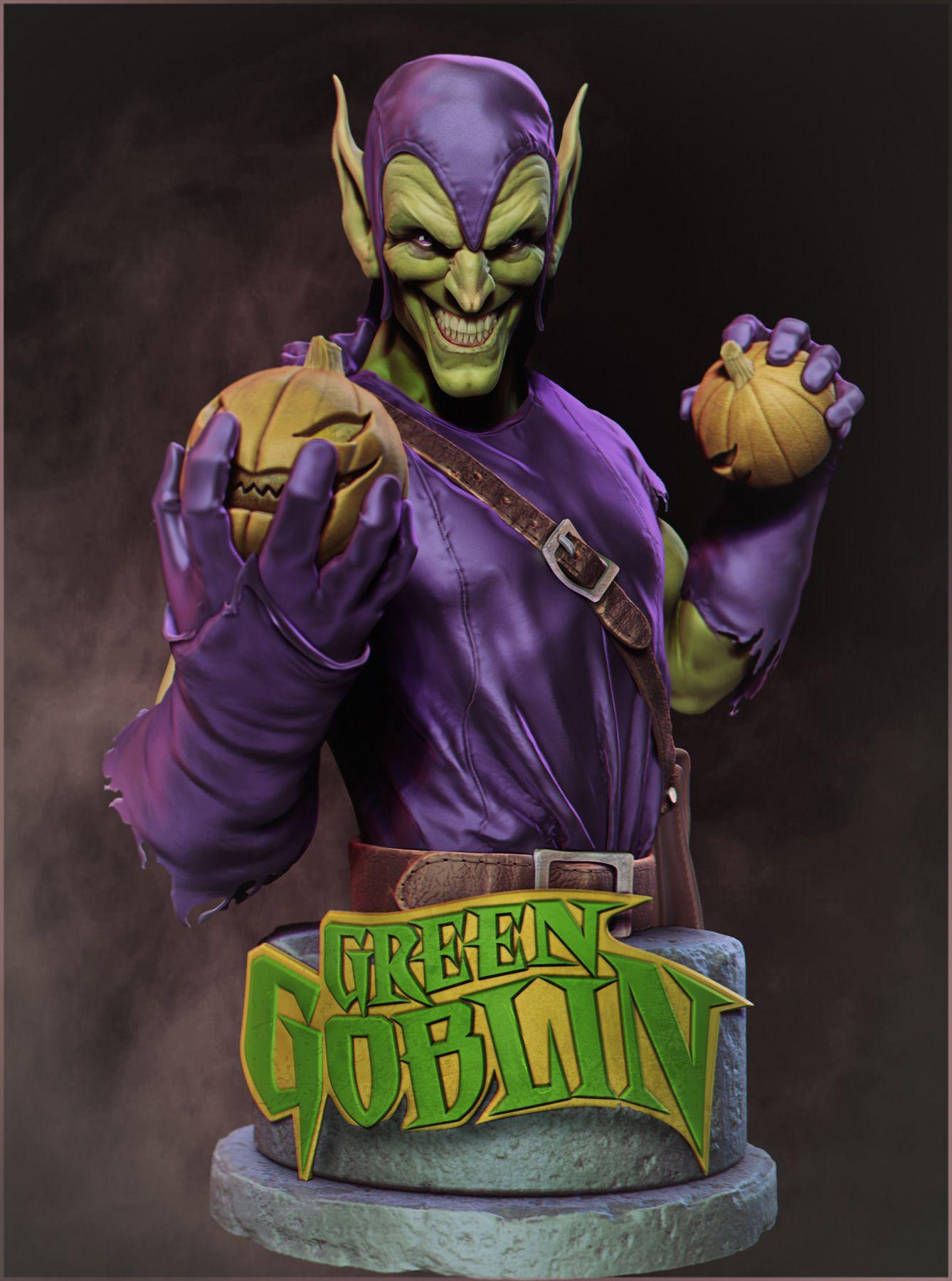 Green Goblin by Emanuel Da Silva Luz