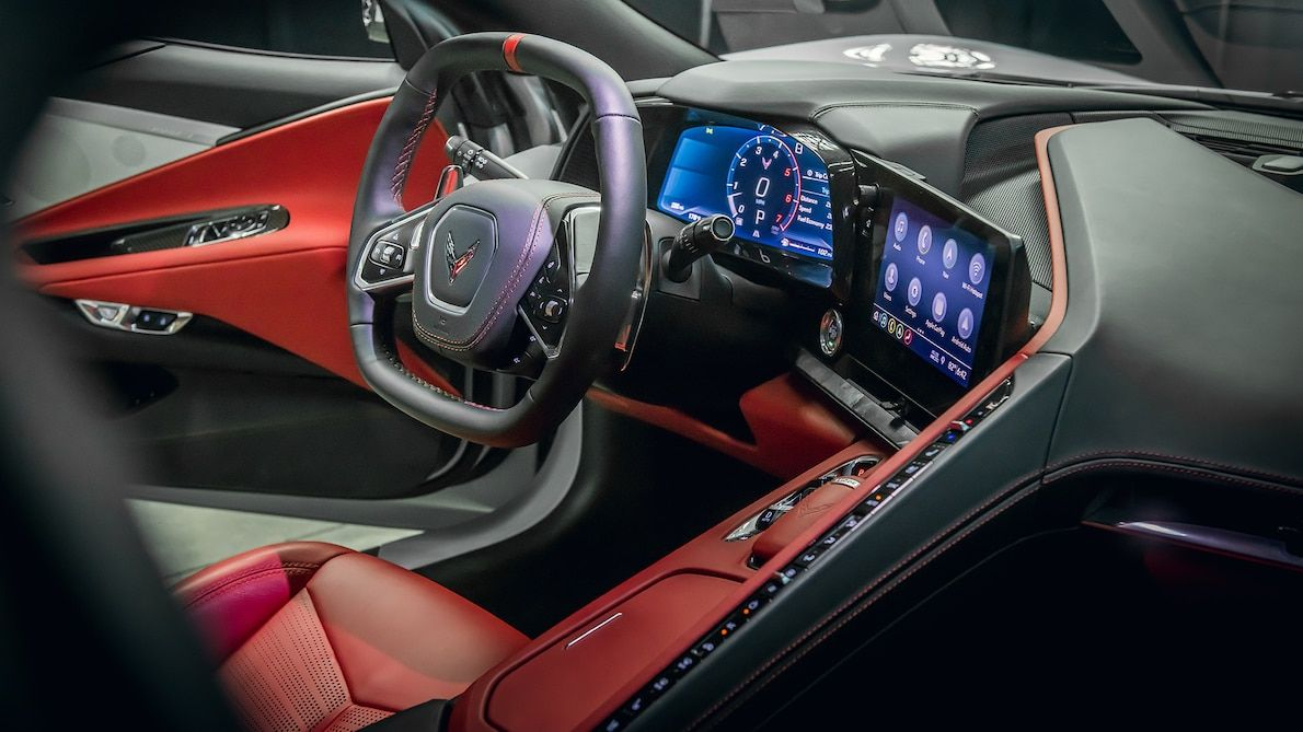 2020 Chevrolet Corvette Interior Review What S Different Inside The C8 In 2020 Hd Wallpaper Desktop